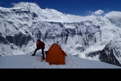 Khan-Tengri (7005 m), Bestigung, Kirgisistan, vom 19.07. bis 20.08.19 - Bild4