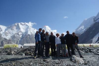 Khan-Tengri (7005 m), Bestigung, Kirgisistan, vom 19.07. bis 20.08.19 - Bild5