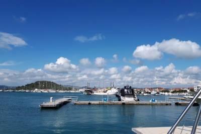 Segeln in Griechenland, Rund Peleponnes Ende Mai mit Sun Odyssey 54 DS - Bild7