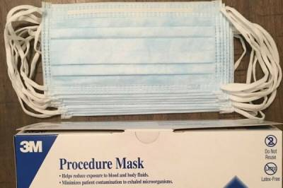 Buy your 3 Ply Surgical Face Mask at low rates and be safe from pollution - Bild1